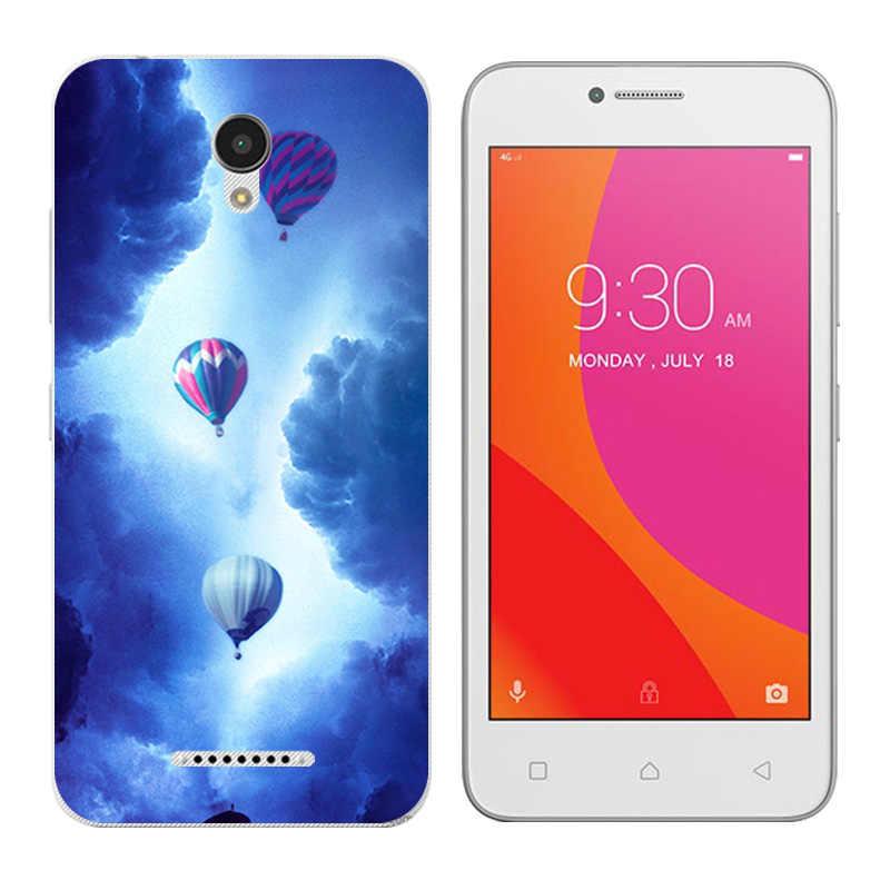 Para Lenovo Vibe B A2016 A1010 A20 un Plus APlus A1010a20 A2016A40 mamífero del teléfono de la impresión casos cubierta de silicona para A1010