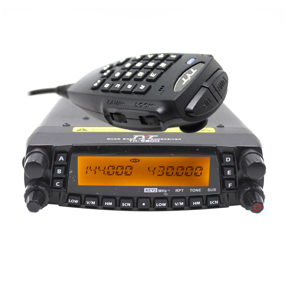 Cable TYT TH-9800 Quad Band 50W Cross Band Mobile Car Truck Ham Radio 809CH
