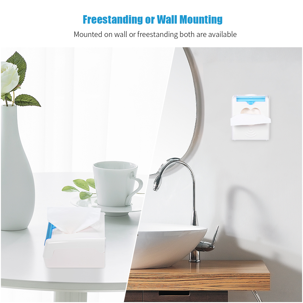 2 in 1 Wall mounted Tissue Dispenser Toothpick Holders ... on Wall Mounted Tissue Box Holder id=55081