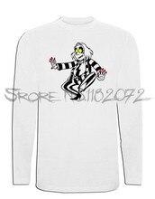 Camiseta Beetlejuice Manga Larga XL XXL L M S Dibujos Fantasma Camiseta 02