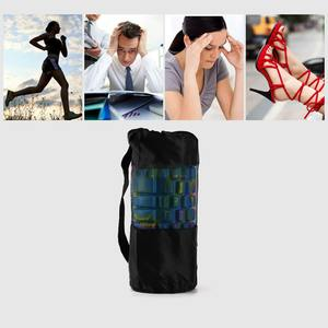 Carrier Drawstring-Bags Yoga-Accessories Gym-Fitness-Tool Strap Mesh-Bag for Foam-Roller
