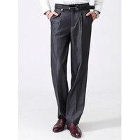 Venda quente! New chegou homens de negócios calças moda Casual Slim Fit marca Formal Blazer reta calças