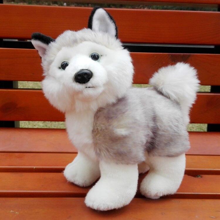 Plush Doll Toys Simulation Husky ChildrenS Toy Stuffed Animals Gifts Standing Huskies Dolls