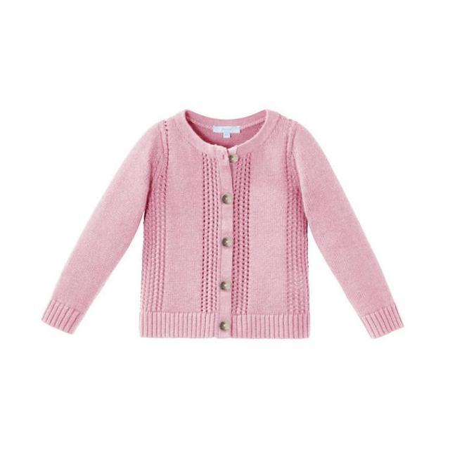 Jacadi 2016 Otoño Nuevos Bebés Conejo Suéteres Jersey de Algodón Niños Niñas Suéter Niñas Cardigan de Punto Al Por Mayor 21