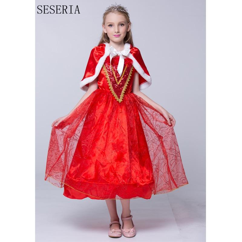 seseria nueva llegada nios caperucita roja disfraz chica cosplay dress de halloween traje con capa
