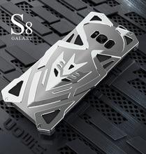 Zimon Панцири II Телефон чехол для Samsung Galaxy S8 плюс S8 + тяжелый металл Панцири ЧПУ анодированный Алюминий панк открытый чехол