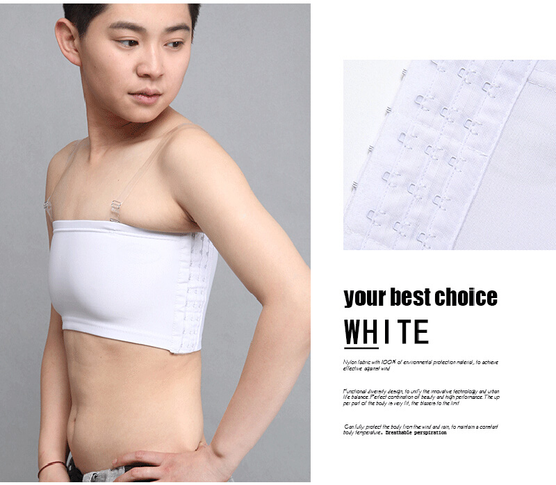 NEW Summer Tube Tops Lesbian Tomboy Chest Breast Binder Tomboy Clothing Underwear Flat Breast Binder for Trans Breast-binding 8