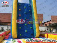 Надувная скалолазальная дорожка Волшебная наклейка детская игра головоломка ракевэй завод прямые счастливые надувные изделия