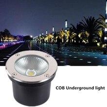 IP68 Водонепроницаемый светодиодный подземный свет 5 W 10 W OutdoorAC85-265V DC12V Уличный настенный светильник подземные садовые свет наземные лампы