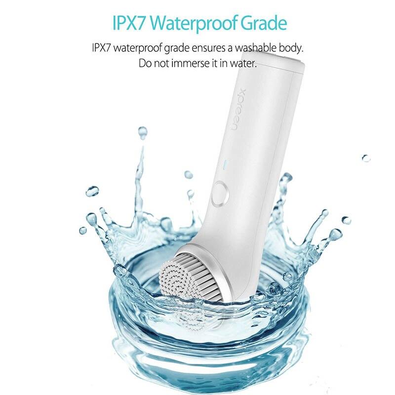 Livraison directe électrique nettoyage du visage Instrument pores nettoyant imperméable soins du visage USB charge @ ME88