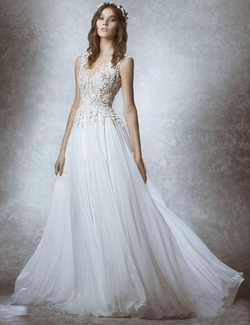 Baratos 2017 vestido de noiva Hermosos Vestidos de Novia de Encaje ...