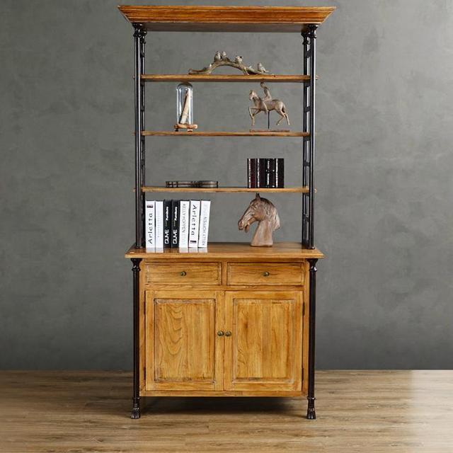 Americano industria del legno retro stile antico mobili - Mobili stile americano ...