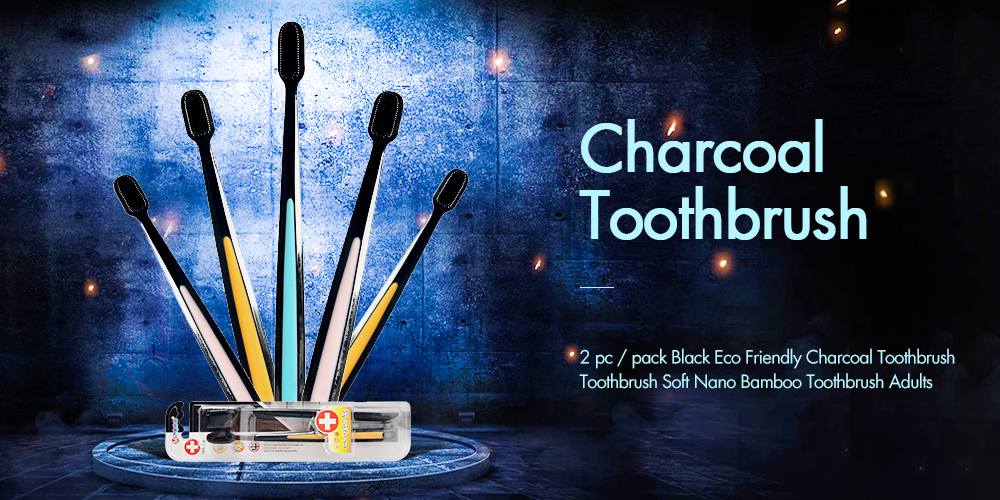 50 м бамбуковый уголь зубная нить для чистки зубов Зубная нить для чистки зубов или встроенная катушка