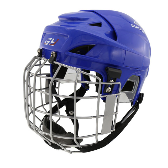 43a5f00e8d9 GY sports hockey equipment colour lacrose professional ice hockey Helmet  with face mask for exercise children gear