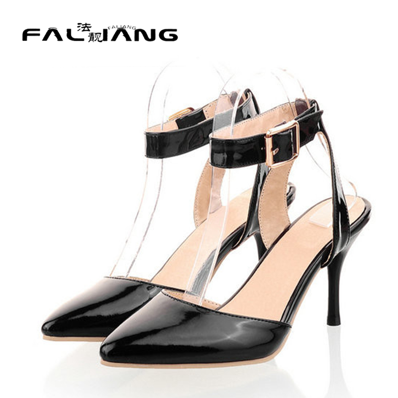 ФОТО Big Size 10 11 12 13 14 15 Fits true to size, take your normal  New Arrival summer High Heels Sexy women pumps large size 34-46