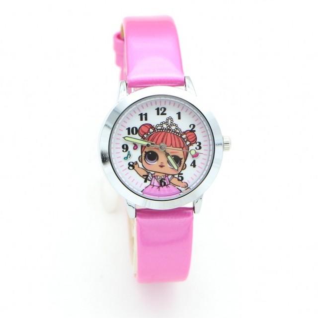 2018 New Fashion cute girls design Children Watch Quartz Jelly Kids Clock boys S