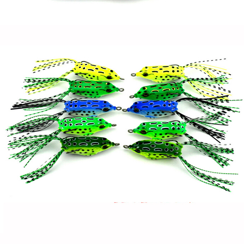 Frog vaba 8g 55mm 3pcs Fly Ribolovne vabe Super Deal Top Water Ray - Ribolov