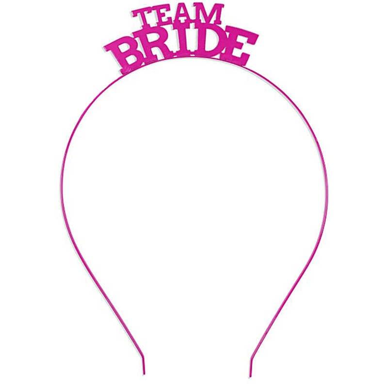 Team Braut tribe Brautjungfer Maid Of Honor Tiara Krone Stirnband für Bachelorette Hen Party Braut zu Werden Hochzeit Braut Dusche geschenk
