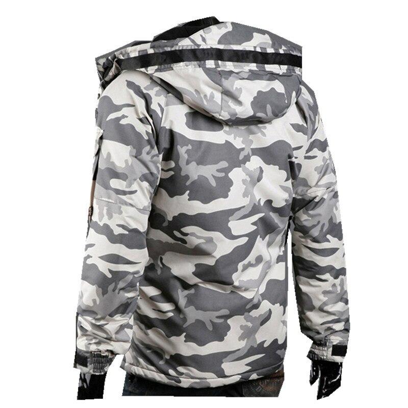 Hiver Camouflage Taille army Plus coréen Gris Manteaux Mince Nouvelle Manteau Hommes Coton Veste Green 2016 La dqwPH88