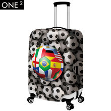 Elastic travel luggage protective covers 18/20/22/24/26/28/30 inch dust suitcase cover waterproof travel accessories