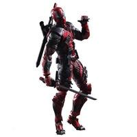 Deadpool Figure Wolverine X Men X MEN Play Arts Kai Deadpool Wade Winston Wilson Play Art KAI PVC Action Figure 26cm Doll Toy