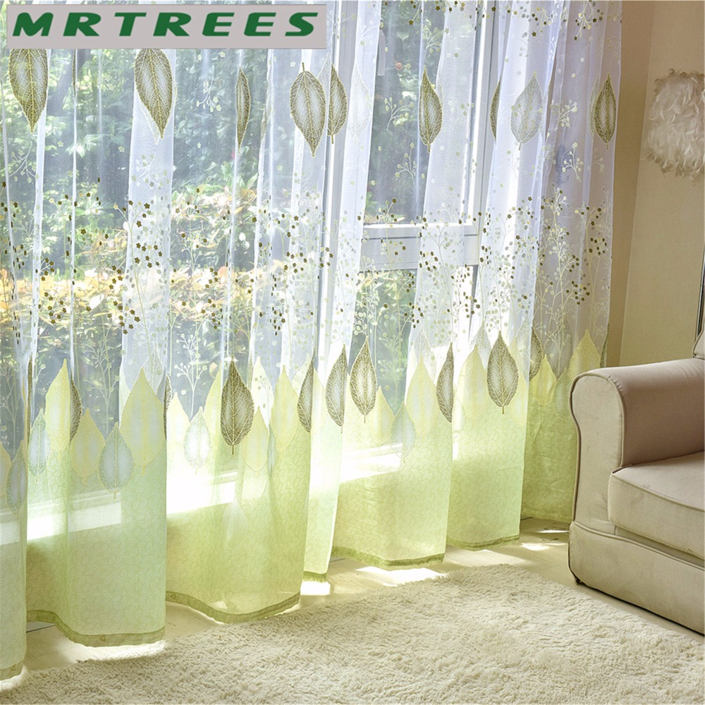 Modern Window Tulle Curtains For Living Room Bedroom Sheer Curtains For The Kitchen Finished Tulle Curtains For Window Drapes