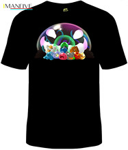 Slime Rancher T-Shirt Unisex Mens Cotton Slimes Tarr Video Game free shipping Casual gift