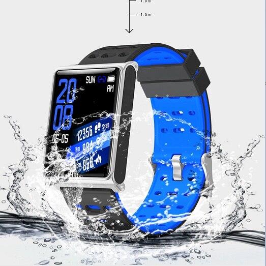 N98 Sport montres intelligentes hommes montre moniteur de fréquence cardiaque Fitness Tracker montres intelligentes pour Android IOS Bluetooth montre intelligente