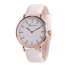 цена на New fashion simple ladies watch ladies color change casual leather quartz watch female clock Relogio Feminino Montre Femme Zegar