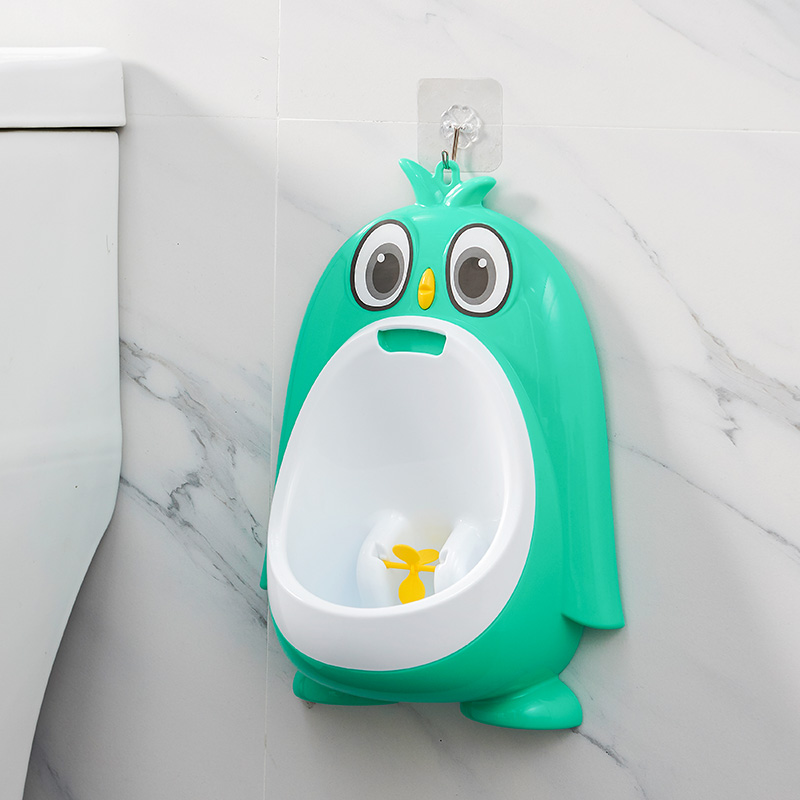 Baby Urinal Babies Boys Penguin Animal Shape Potty Toilet Training Kids Children Stand Vertical Urinal