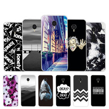 for Meizu MX4 TPU Soft Case 5.36 inch Black Matte Luxury OKAY Back Cover for Coque Meizu MX 4 Slim Silicone Protection Shell
