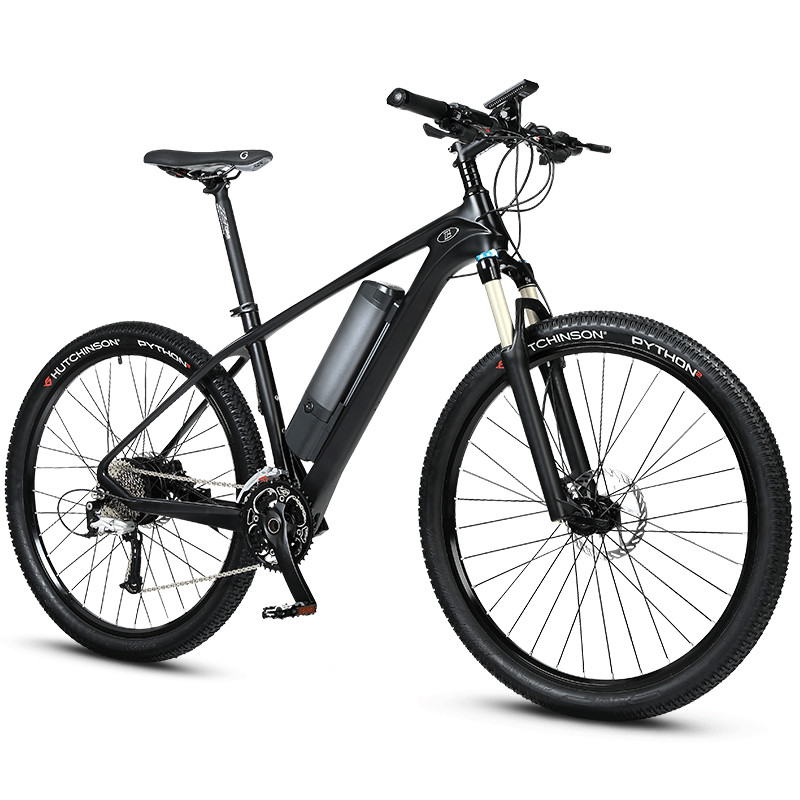 27.5inch carbron fiber electric mountain bike assisted hybird ebike Super light off road Ebike smart PAS carbon fiber bicycle