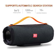 E13 Mini Portable Wireless Bluetooth Speaker Stereo Speakerphone Radio Music Subwoofer Column Speakers for Computer with TF FM цена и фото