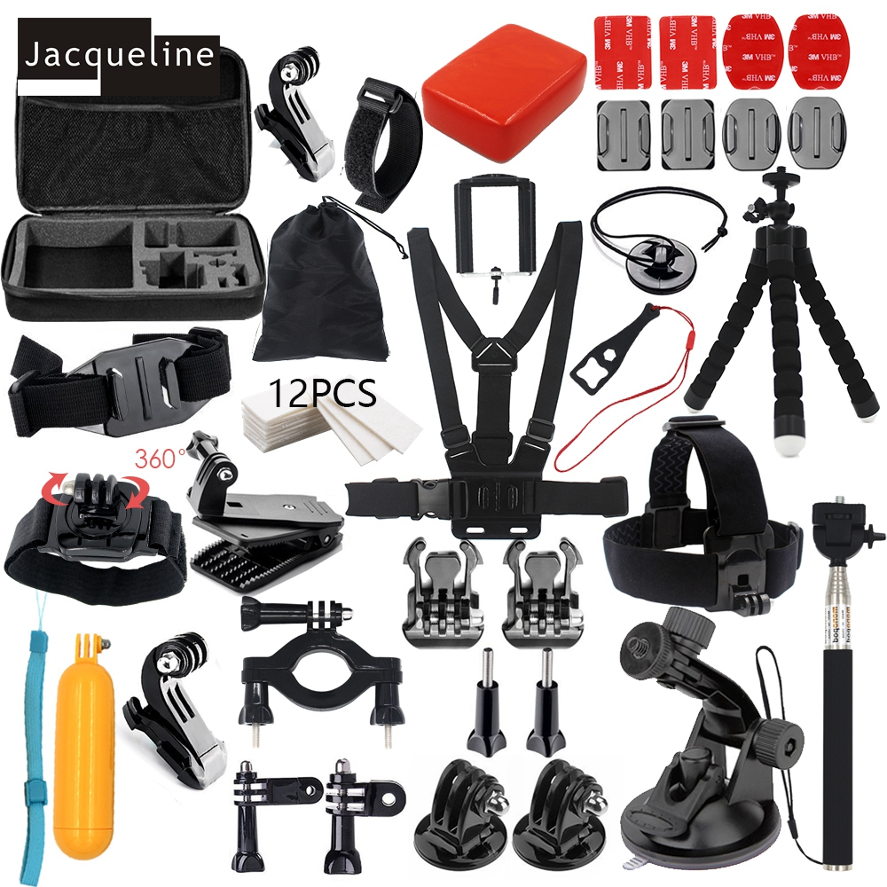 Jacqueline for Accessories Kit Set Support pour Gopro Hero 6 5 4 - Caméra et photo - Photo 1