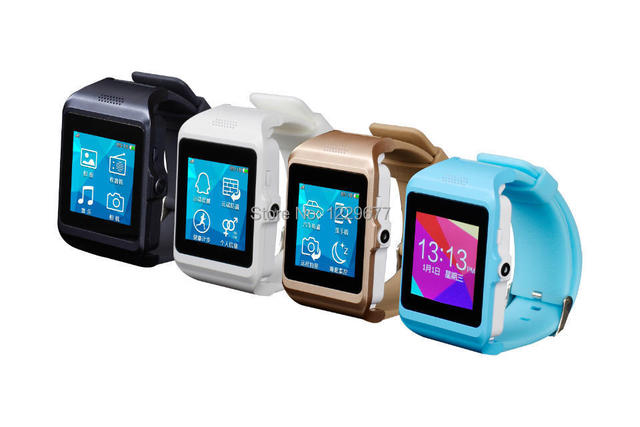 Free Shipping 2014 NEW Fashion U Pro P3 Support Video Play ,TF ,FM Full Touch Screen smart Bluetooth Wrist Watch