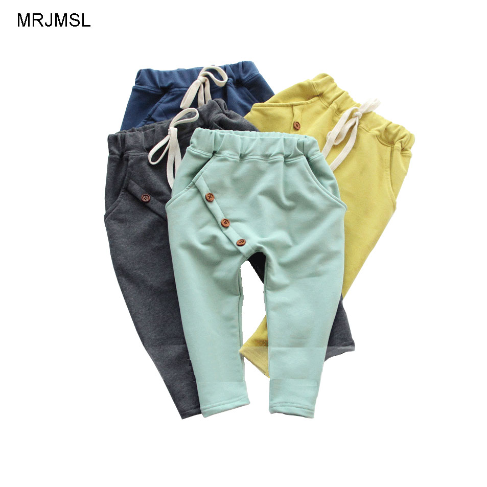 MRJMSL clothes children pants for boys trousers girls
