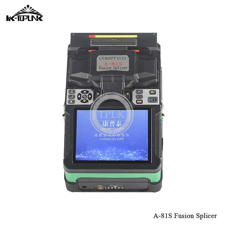 Дешевый FTTH волоконно-оптический сварочный аппарат для сращивания A-81S сварочный аппарат для сращивания с 9 секундами