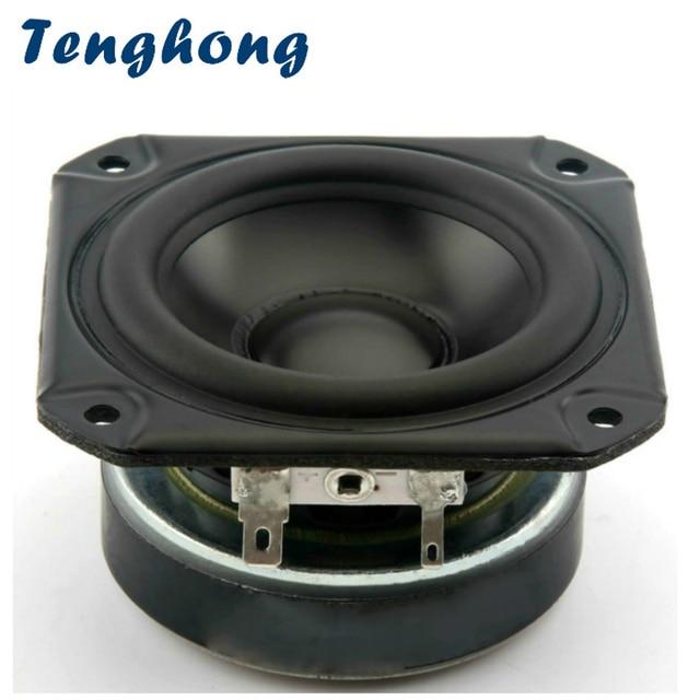 Tenghong 1pcs 3 אינץ אודיו נייד רמקולים מלא טווח 4Ohm 40W Tweeter הבינוני וופר עבור פירלס רכב Bluetooth רמקולים