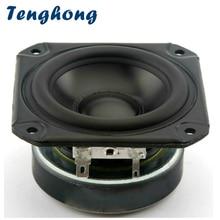Tenghong Altavoces portátiles de Audio de 3 pulgadas, 1 Uds., rango completo de 4ohm, 40W, Tweeter Midrange Woofer para altavoces de coche sin cámara