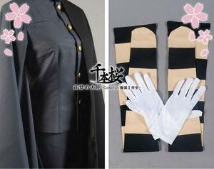 Image 5 - 千本桜vocaloid鏡音レンコスプレ衣装着物軍制服の布女性ハロウィン
