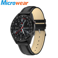 Sports smartwatch men ECG Heart Rate Monitoring blood pressure remote music ip68 waterproof Fitness tracker for android L7 clock