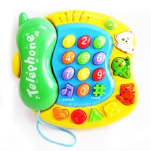 лучшая цена Good Friend Baby Phone Play Set with Music, Voice & Learning Functions Toys for Children Kids Educational Toys English Toy