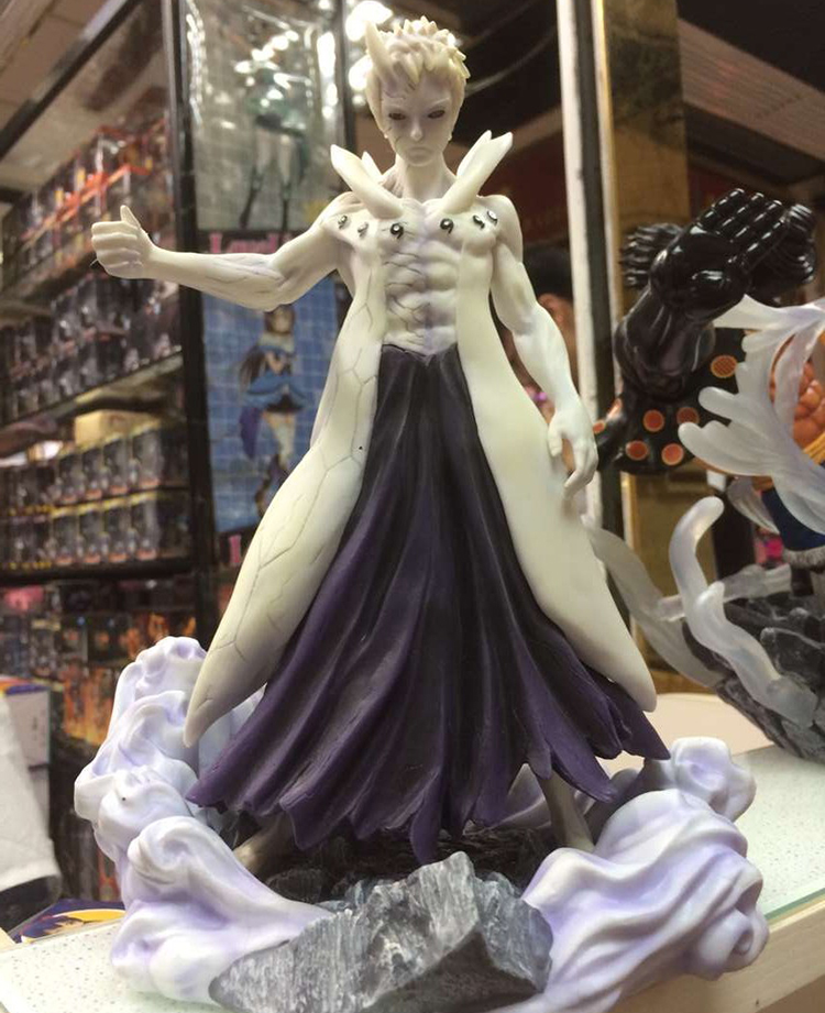 цена на MODEL FANS IN-STOCK cheap version NARUTO Uchiha Obito Ootutuki Hagoromo mode GK pvc made for Collection