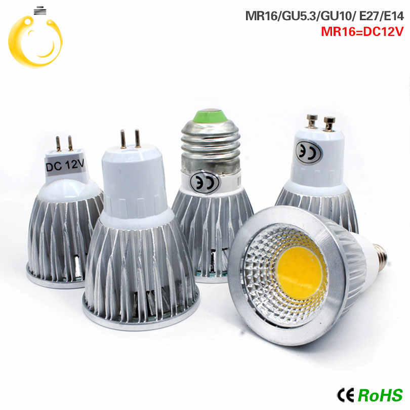 Lowest price led bulb 9W 12W 15W led lights E27 E14 GU10 GU5.3 220V MR16 12V Cob led bulb Warm White Cold White lampada led lamp