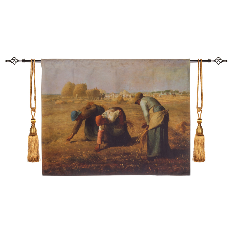 90x70cm [ The Gleaners ] Famous Works wall tapestry belgium art wall hanging medieval tapestries wall carpet Des glaneuses