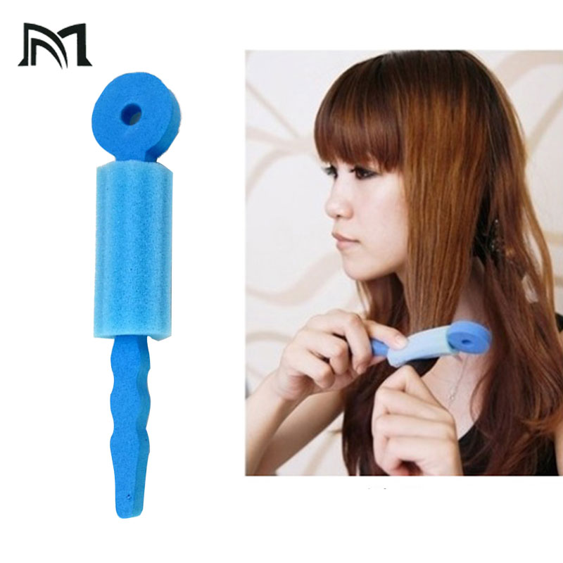 3pcs/bag Sponge Hair Rollers Sleep Flexi Rods Hair Curlers Magic Rollers Hair Styling Tool For Barber Convenient Curler Tools B4