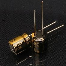 2018 hot sale 30PCS new Japanese original nichicon audio electrolytic capacitor KZ 33uF/25V capacitor free shipping