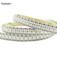 Tanbaby 1M 144 leds WS2812B Individually Addressable LED Strip SMD 5050 RGB ribbon LED Pixel Flexible Light Non-waterproof