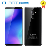 Cubot X18 Plus Android 8.0 18:9 FHD+ 4GB 64GB 5.99 Inch MT6750T Octa Core Smartphone 16MP+2MP Rear Cameras 4000mAh 4G Celular