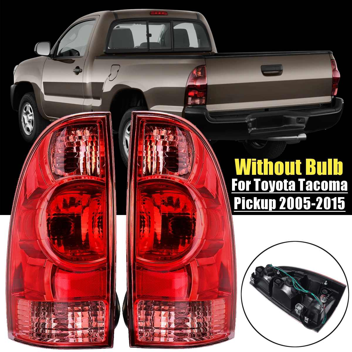White LED Interior,Reverse,Fog lights package Tool for 2012-2015 Toyota Tacoma